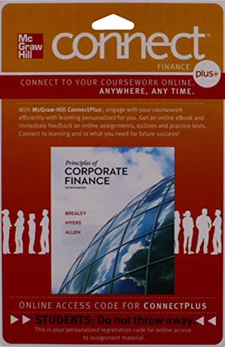 PRIN.OF CORPORATE FINANCE-CONN N/A 9780077502454 Front Cover