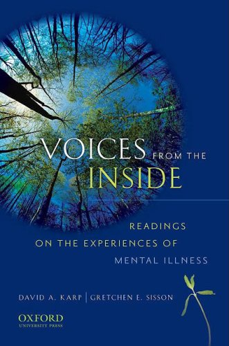 Voices from the Inside Readings on the Experiences of Mental Illness  2010 edition cover