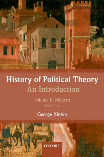 History of Political Theory: an Introduction Volume II: Modern 2nd 2013 edition cover