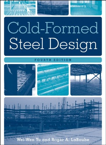 Cold-Formed Steel Design  4th 2011 edition cover