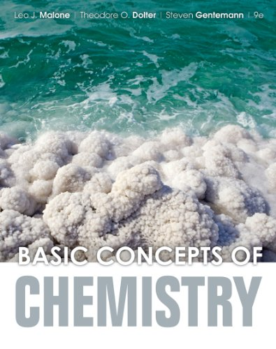 Basic Concepts of Chemistry  9th 2013 edition cover