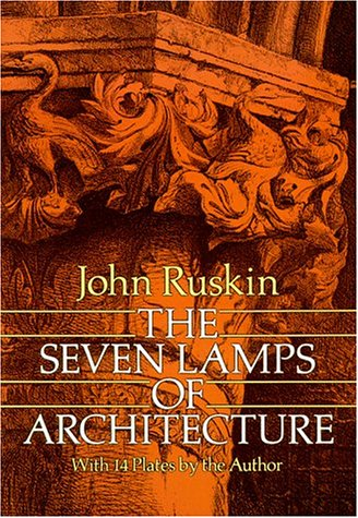 Seven Lamps of Architecture   1989 edition cover