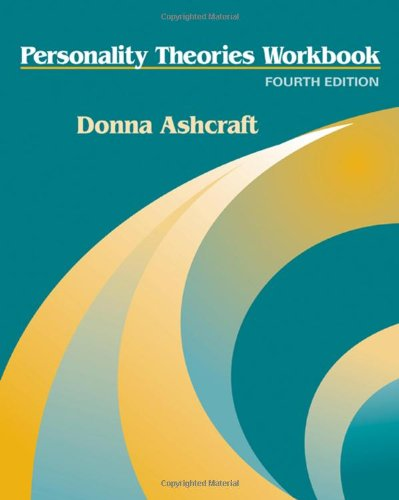 Personality Theories Workbook  4th 2009 edition cover
