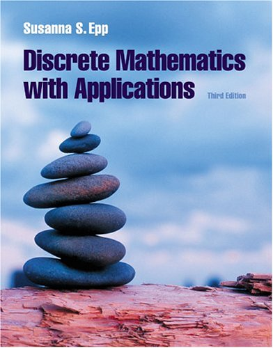 Discrete Mathematics with Applications  3rd 2004 edition cover