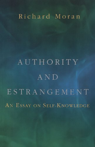 Authority and Estrangement An Essay on Self-Knowledge  2002 edition cover