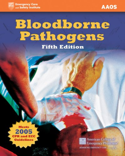 Bloodborne Pathogens  5th 2008 (Revised) edition cover