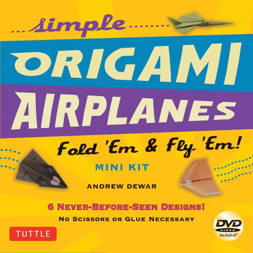 Simple Origami Airplanes Mini Kit   2013 9780804843454 Front Cover