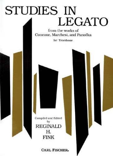 Studies in Legato for Trombone 1st edition cover