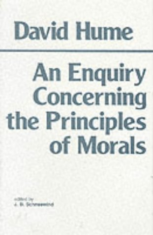 Enquiry Concerning the Principles of Morals A Critical Edition N/A 9780915145454 Front Cover