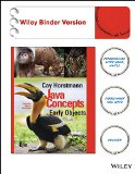 Java Concepts  8th 2015 edition cover