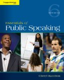 Essentials of Public Speaking:   2014 9781285159454 Front Cover