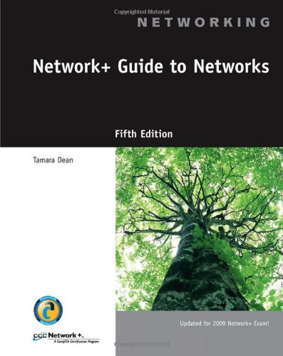 Network+ Guide to Networks  5th 2010 edition cover