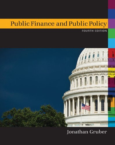 Public Finance and Public Policy:   2012 9781429278454 Front Cover