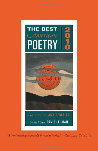 Best American Poetry 2010 Series Editor David Lehman N/A edition cover