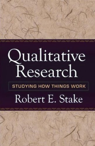 Qualitative Research Studying How Things Work  2010 edition cover
