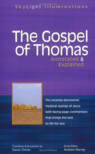 Gospel of Thomas Annotated and Explained  2002 edition cover