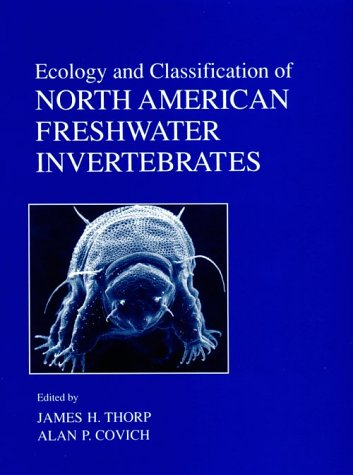 Ecology and Classification of North American Freshwater Invertebrates   1991 edition cover