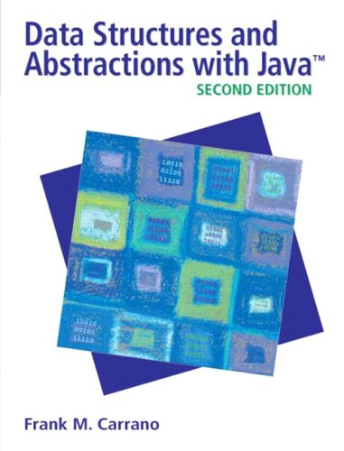 Data Structures and Abstractions with Java  2nd 2007 (Revised) edition cover