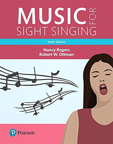 Music for Sight Singing: Books a La Carte Edition  2018 9780134475455 Front Cover