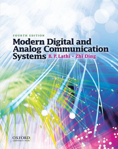Modern Digital and Analog Communication Systems  4th 2008 edition cover
