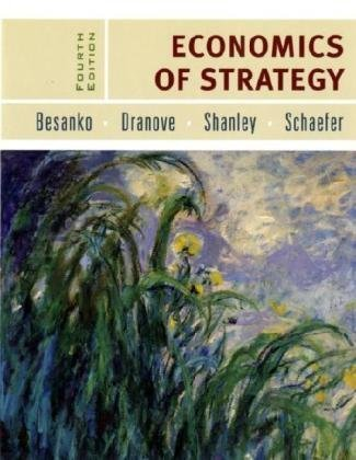 Economics of Strategy  4th 2007 (Revised) edition cover