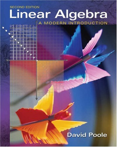 Linear Algebra A Modern Introduction 2nd 2006 edition cover