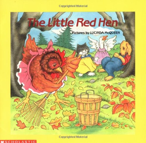 Little Red Hen  N/A 9780590411455 Front Cover