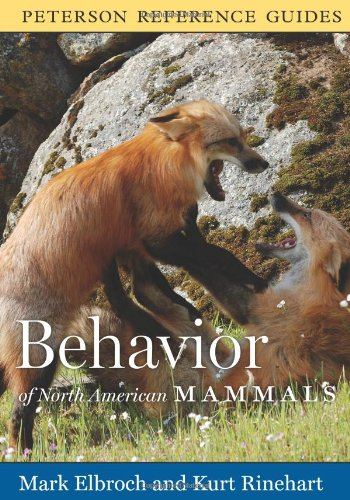 Behavior of North American Mammals   2011 edition cover