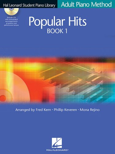 Adult Piano Method Popular Hits N/A edition cover