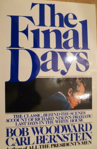 Final Days  N/A 9780671646455 Front Cover