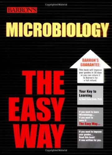 Microbiology the Easy Way   2005 edition cover
