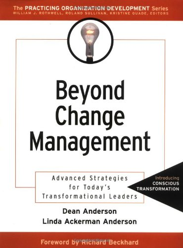 Beyond Change Management Advanced Strategies for Today's Transformational Leaders  2001 edition cover