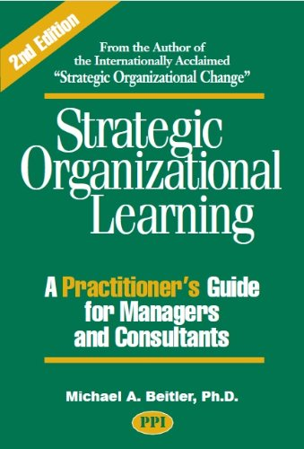 Strategic Organizational Learning: A Practitioner's Guide for Managers and Consultants  2010 edition cover