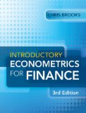 Introductory Econometrics for Finance  3rd 2014 (Revised) edition cover