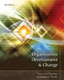 Organization Development and Change  10th 2015 9781133190455 Front Cover