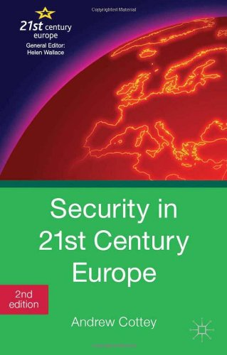 Security in 21st Century Europe  2nd 2013 (Revised) edition cover