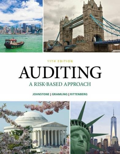 Auditing: A Risk Based-approach  2018 9781337619455 Front Cover