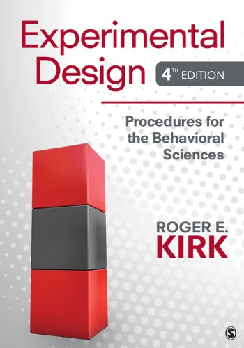 Experimental Design Procedures for the Behavioral Sciences 4th 2013 edition cover