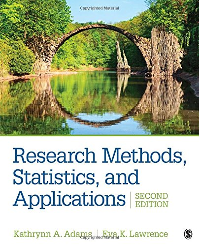 Research Methods, Statistics, and Applications:   2018 9781506350455 Front Cover