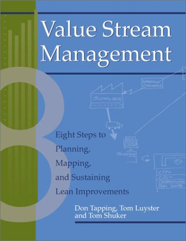 Value Stream Management Eight Steps to Planning, Mapping, and Sustaining Lean Improvements  2002 9781563272455 Front Cover