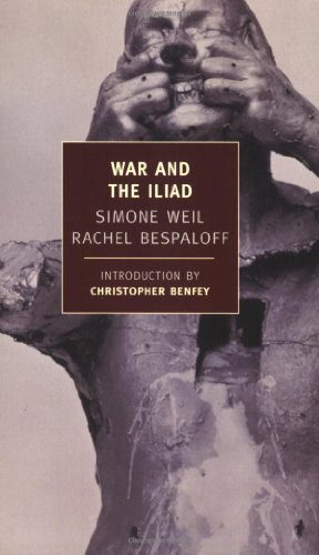 War and the Iliad   2005 edition cover
