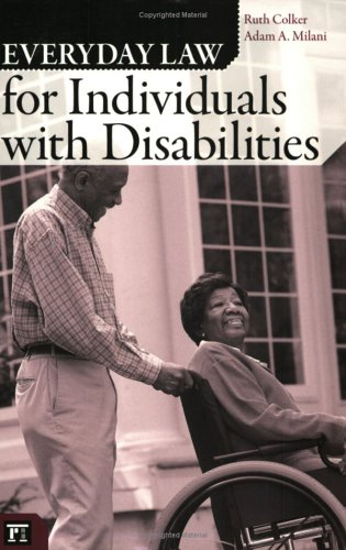 Everyday Law for Individuals with Disabilities   2006 edition cover