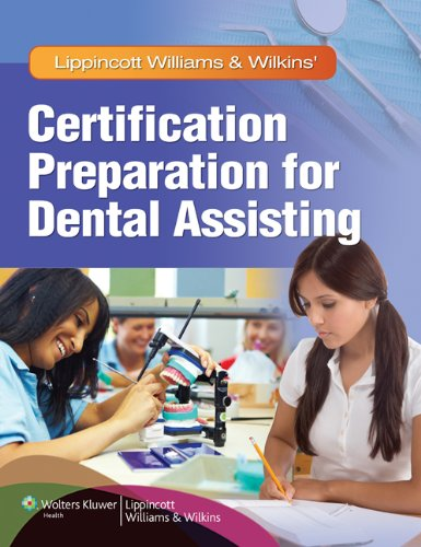 Certification Preparation for Dental Assisting   2012 edition cover