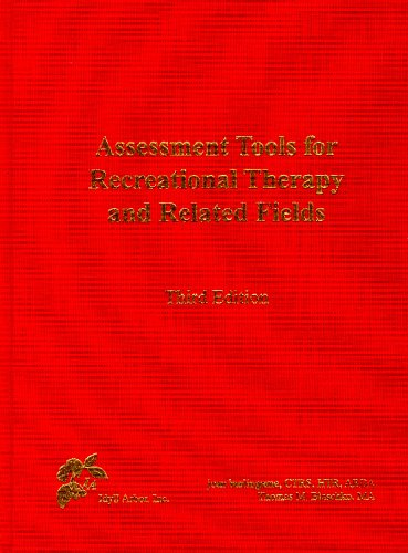 Assessment Tools for Recreational Therapy and Related Fields  3rd 2002 edition cover