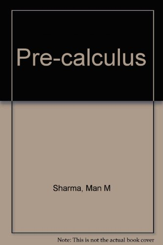 Pre-calculus 3rd 2002 edition cover