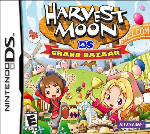 Harvest Moon: Grand Bazaar Nintendo DS artwork