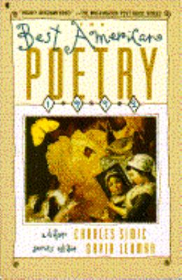 Best American Poetry, 1992 N/A edition cover