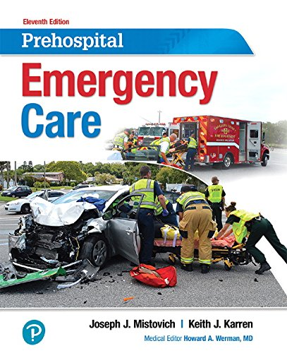 Prehospital Emergency Care  11th 2018 9780134704456 Front Cover