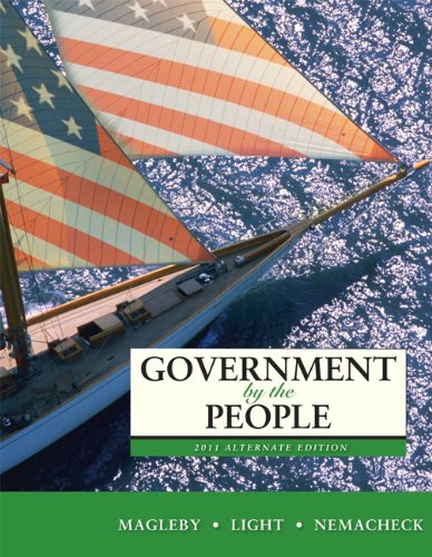 Government by the People 2011  24th 2011 edition cover