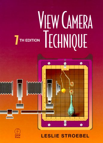 View Camera Technique  7th 1999 (Revised) edition cover